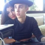 Justin Bieber With His Ex-Girlfriend Alyssa Arce