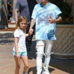 Justin Bieber With His Half-Sister Jazmyn