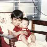 KL Rahul's childhood pic with his sister