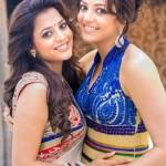 Kajal Aggarwal with her sister