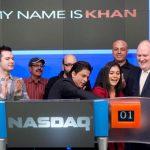 Kajol and Shah Rukh Khan NASDAQ