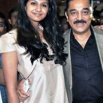 Kamal Haasan with Gautami daughter Subbalakshmi