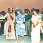 Kamal Haasan with Queen Elizabeth 2