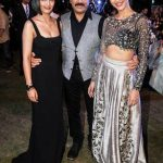Shruti Haasan with her sister and father