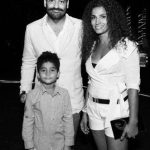 Kamal Sidhu With Her Husband & Son