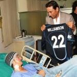 Kane Williamson donation