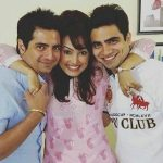karan-mehra-with-his-wife-and-brother