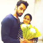 Karan Vohra with his Mother