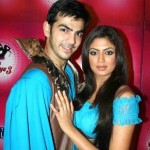 Karan V Grover with Kavita Kaushik