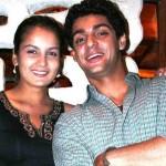 Karan Wahi with Priyanka Bassi