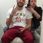 Karim with his sister Nafisa