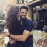 Karishma Tanna with Upen Patel