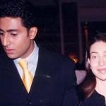 Karisma Kapoor with Abhishek Bachchan