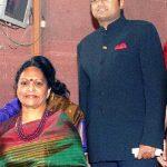 Karti Chidambaram with his mother