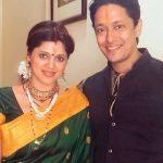 Karuna Pandey with her husband