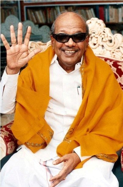Karunanidhi DMK leader