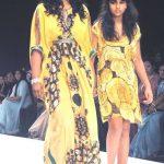 Kaveri Kapur with her mother