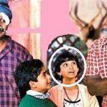 Keerthi Suresh as child artist