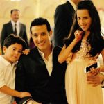 Khalid Siddiqui with his children