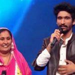 Khuda Baksh with his mother