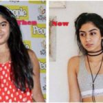 Khushi Kapoor - then and now