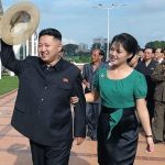 Kim Jong-un with his wife Ri sol ju