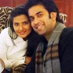 Kratika Sengar with Rajeev Sen
