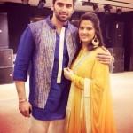 Kratika Sengar with her husband