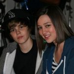 Justin Bieber With His Ex-Girlfriend Kristen Rodeheaer