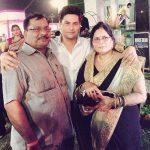 Kuldeep Yadav with his parents