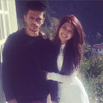 Charlie with her brother Kunal Chauhan