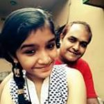 Kushal Paul's father & sister