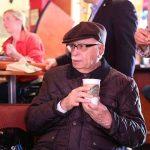 L K Advani at Starbucks NY