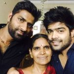 LV Revanth with his family