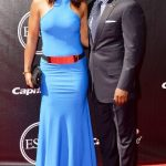 Laila Ali with her husband Curtis Conway