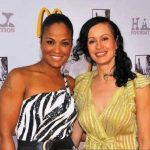 Laila Ali with her mother