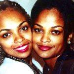 Laila Ali with her sister Hana Ali
