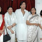 Lata Mangeshkar With Her Sisters And Brother