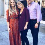 Lauren Duski with her parents