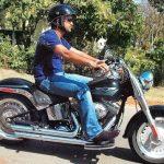 MS Dhoni Harley Davidson