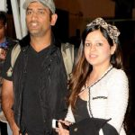 MS Dhoni with his wife Sakshi Dhoni