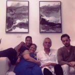 Madhura Naik with her family