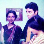 Madhuri Dixit in a TV show in 1984