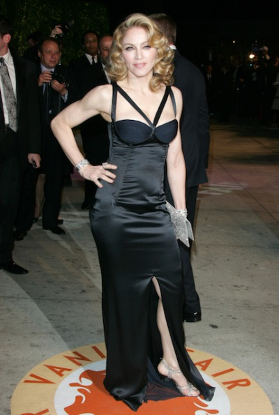 Madonna at a Hollywood function