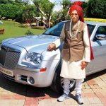 Mahashay Dharampal Gulati Chrysler Limo