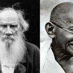 Mahatma Gandhi And Leo Tolstoy