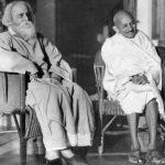 Mahatma Gandhi With Rabindranath Tagore