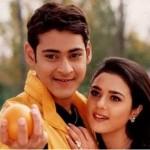Mahesh Babu with Preity Zinta