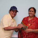 Malhar Pandya's parents