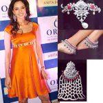 Mallika Sherawat diamond in Cannes 2005